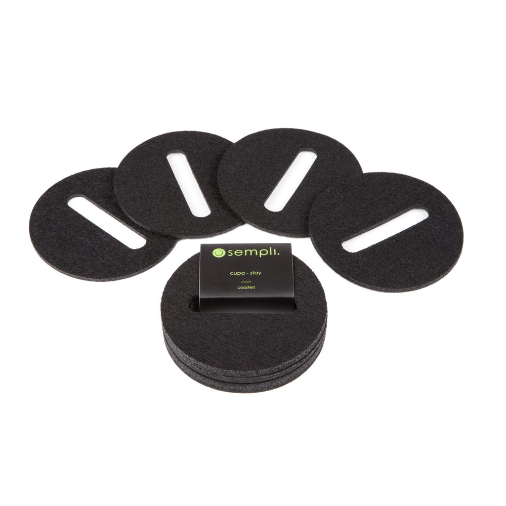 Image of Cupa-Stay Coasters Black