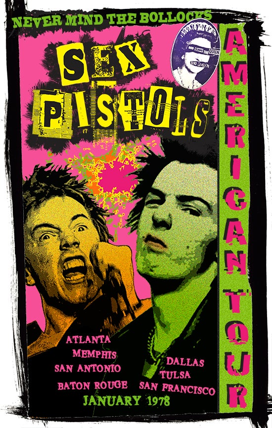 Image of SEX PISTOLS AMERICAN TOUR