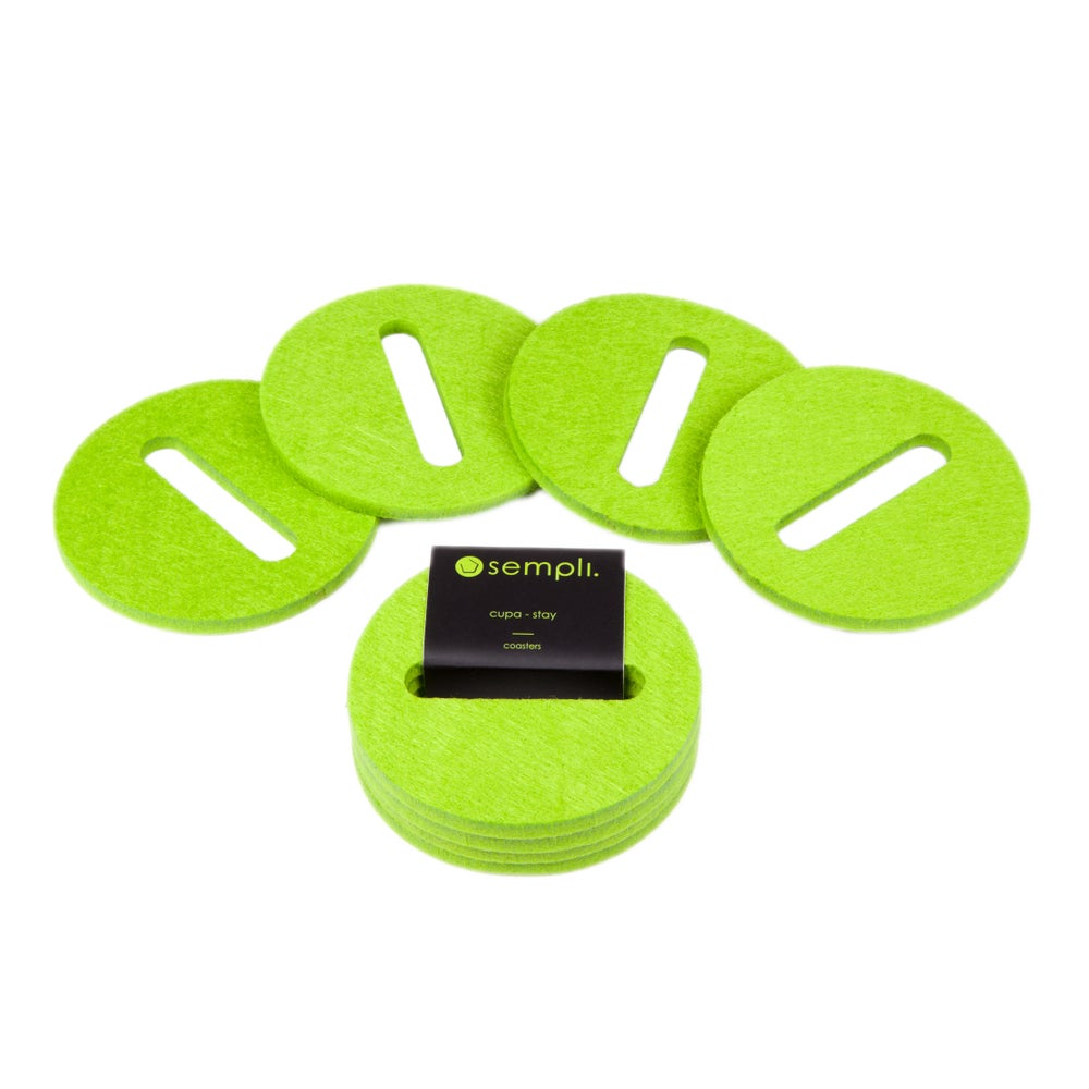 Image of Cupa-Stay Coasters Green
