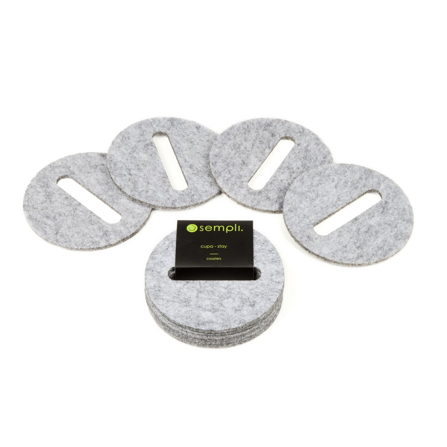 Image of Cupa-Stay Coasters Grey