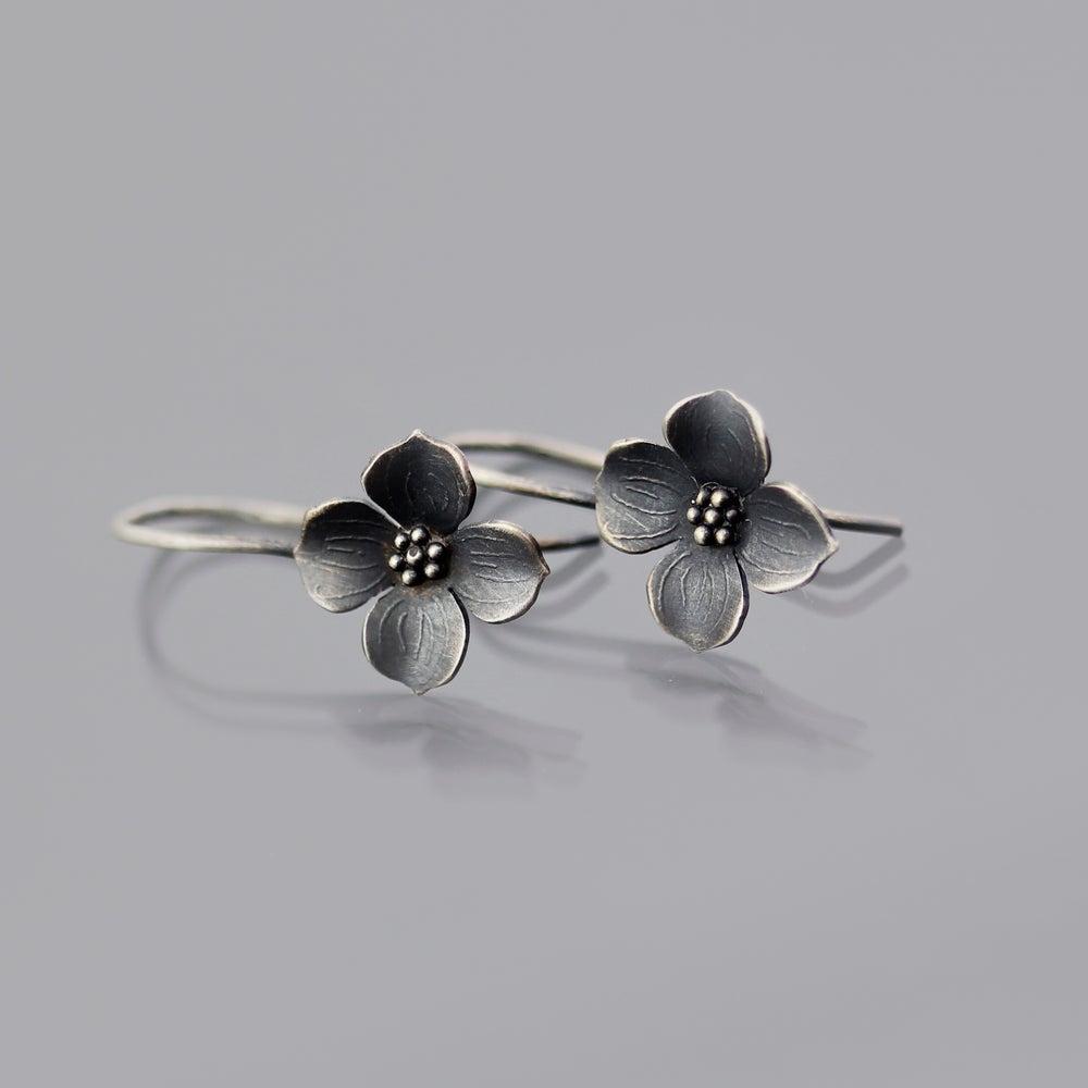 Image of Dogwood Blossom Earrings