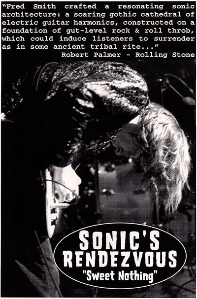 Image of SONIC'S RENDEZVOUS - SWEET NOTHING (CD CLOSEOUT)