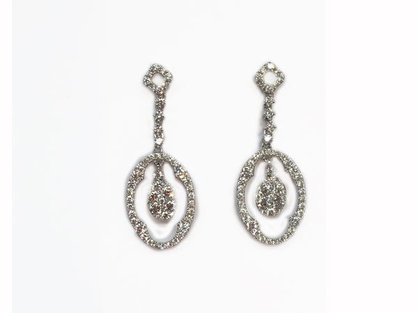Image of Diamond Earrings