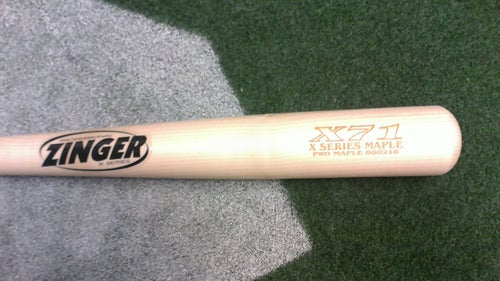 Image of X71 - 3 Bat Pack - All Natural Pro Maple w/ Ink Dot