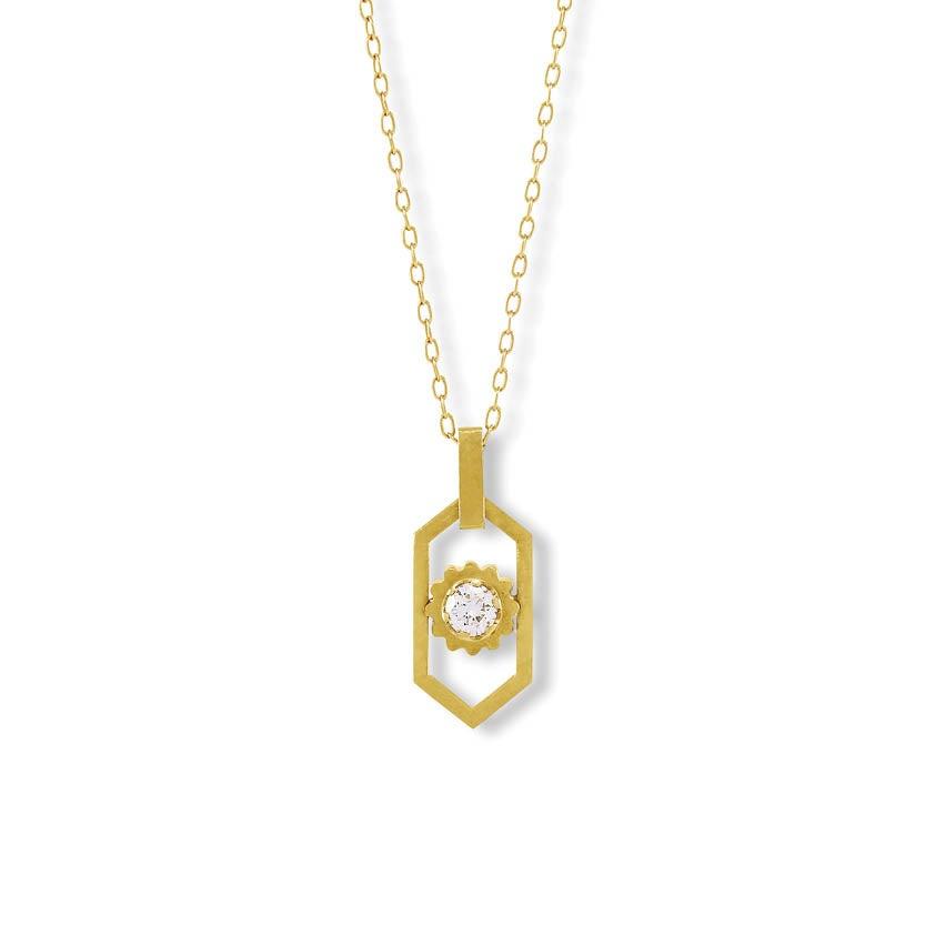 Image of Palma Diamond Necklace