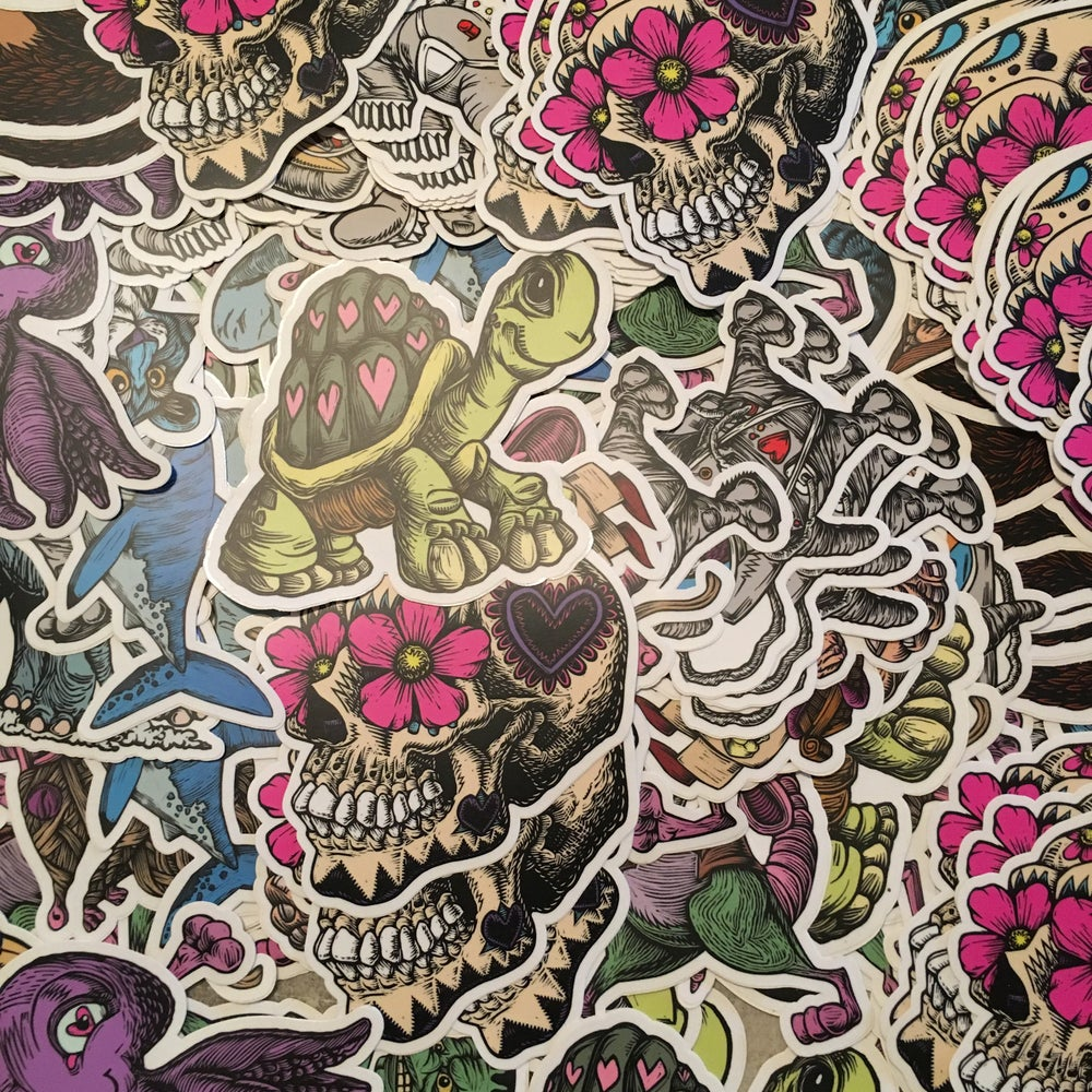 Image of RANDOM STICKER 5 Pack