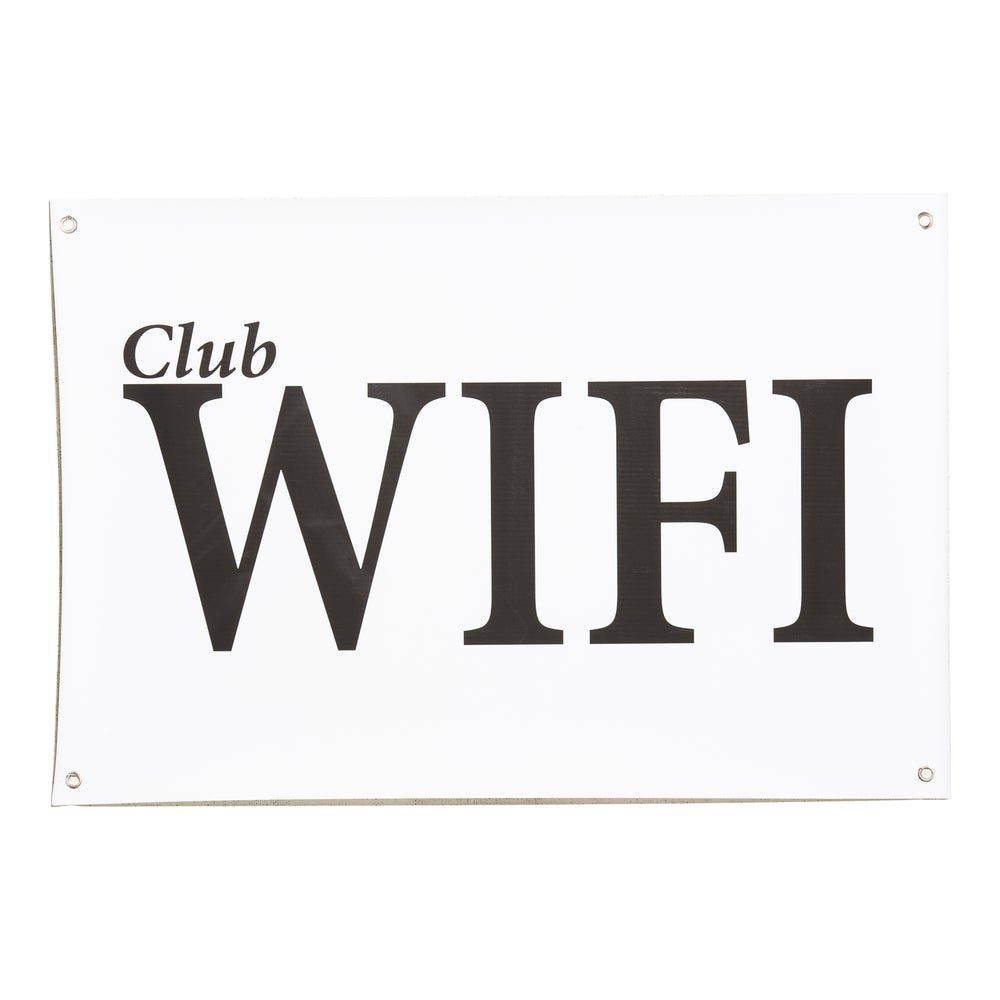 """Image of Club Wifi Banner 36"""" x 24"""""""