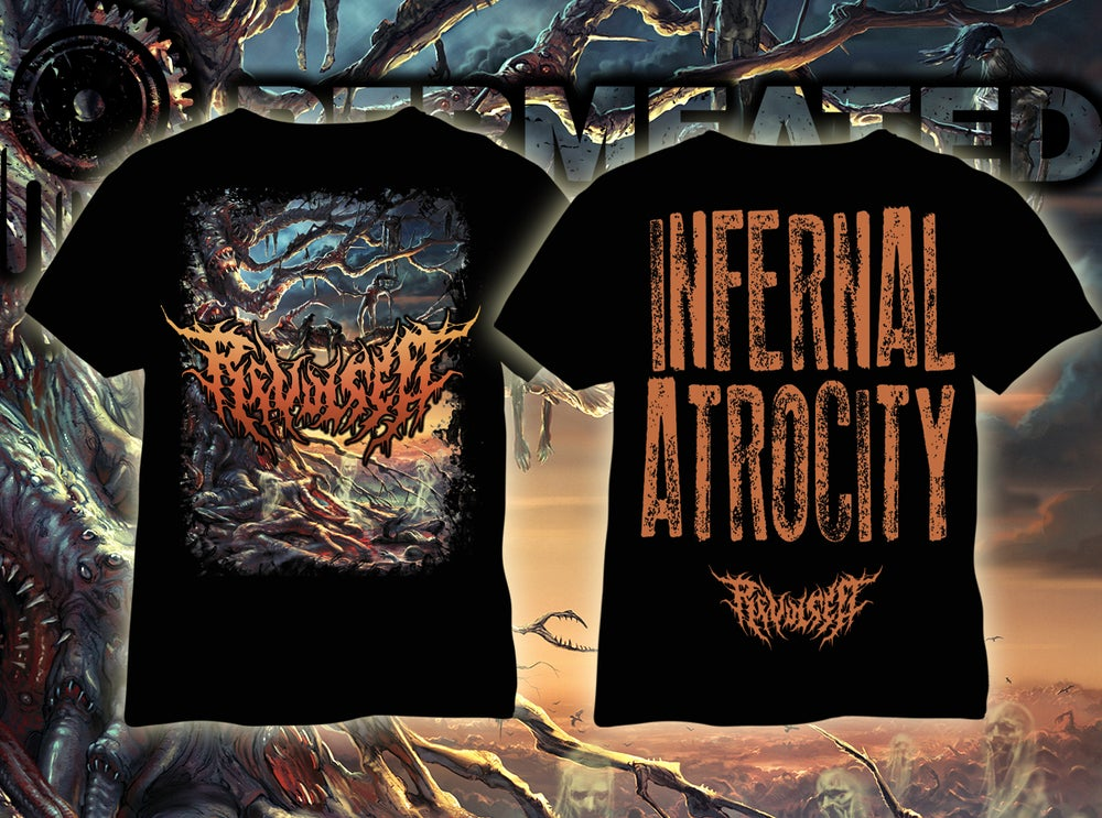 Image of Revulsed - Infernal Atrocity - T-Shirt