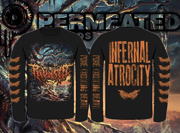 Image of Revulsed - Infernal Atrocity Long Sleeve
