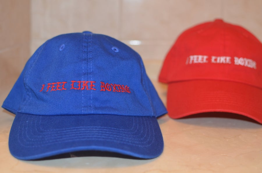 Image of i feel like Boxing Baseball Caps