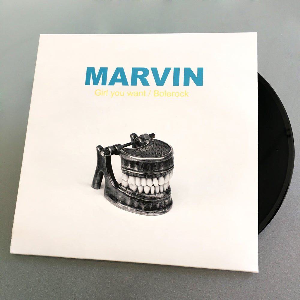 "Image of Marvin - ""Girl You Want"" / ""Bolerock"" (EP)"