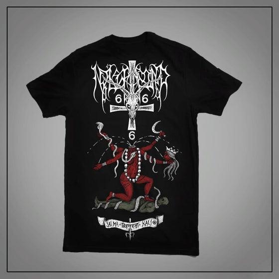 Image of Nåstrond - Jai Ma Kali - Official T-shirt.