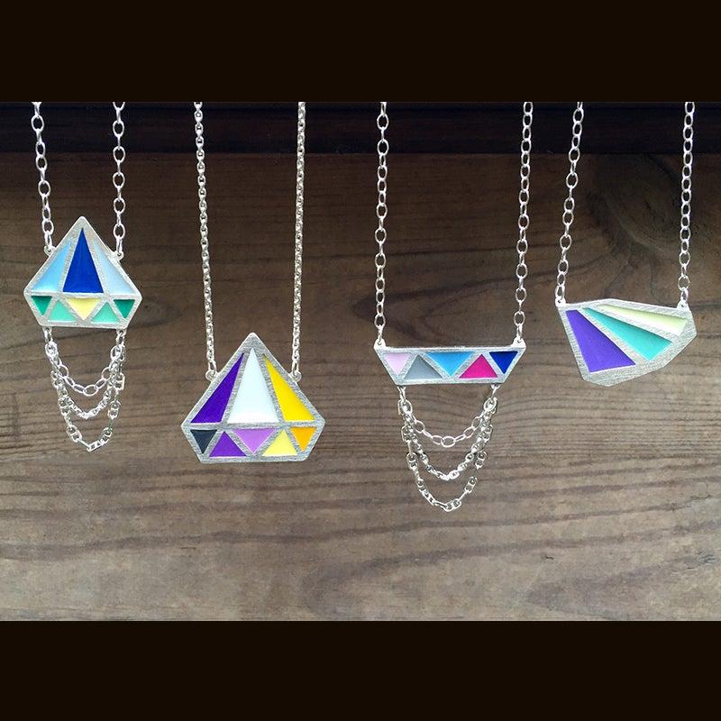 Image of Monarch Color Necklace