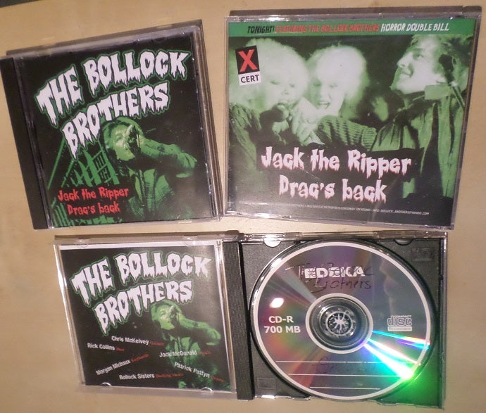 The Bollock Brothers — CD's