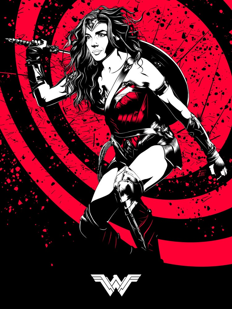 Image of Wonder Woman 11x17 Poster