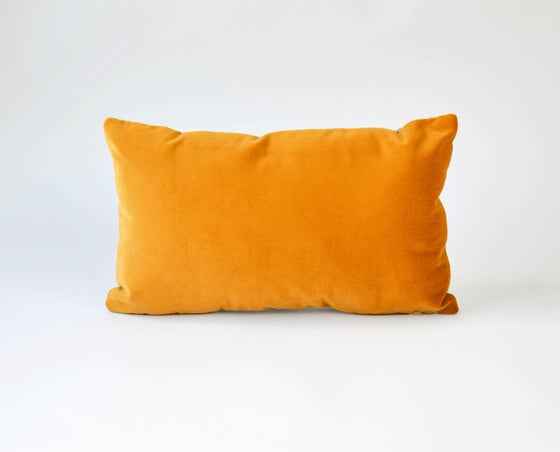 Image of Galaxy Velvet Gold Cushion Cover - Rectangular
