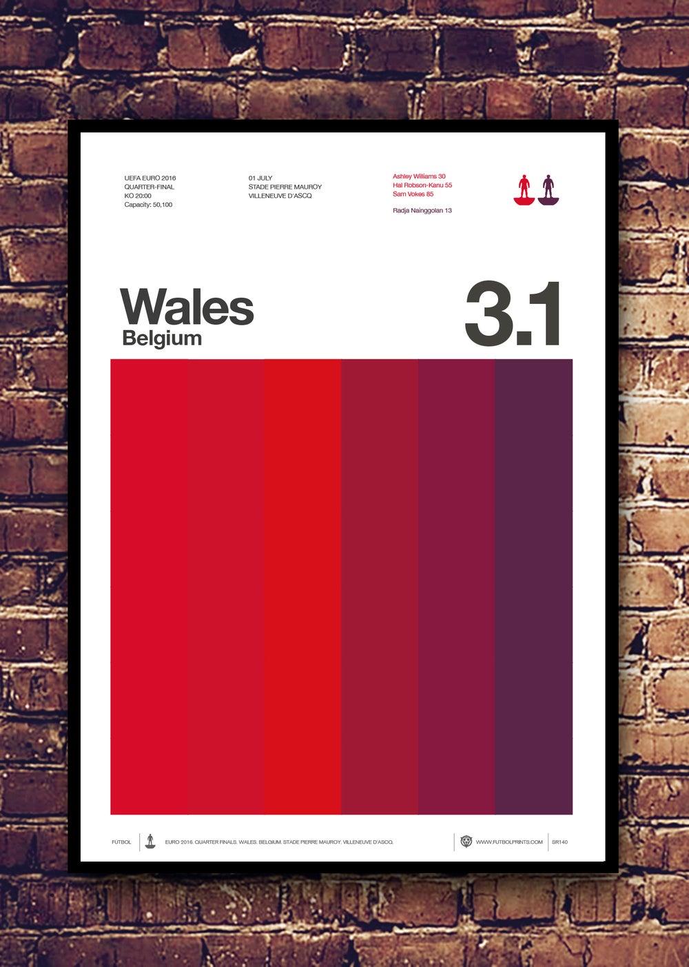 Image of WALES - BELGIUM - EURO 2016