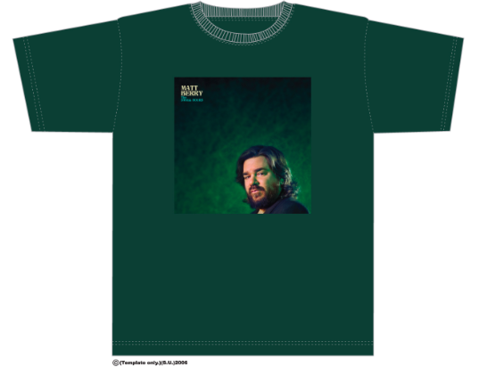 Image of Matt Berry 'The Small Hours' T-Shirt Green