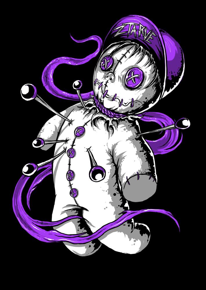 Image of Ztarve - Voodoo Doll Hoodie