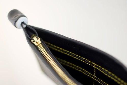 Image of black fold wallet