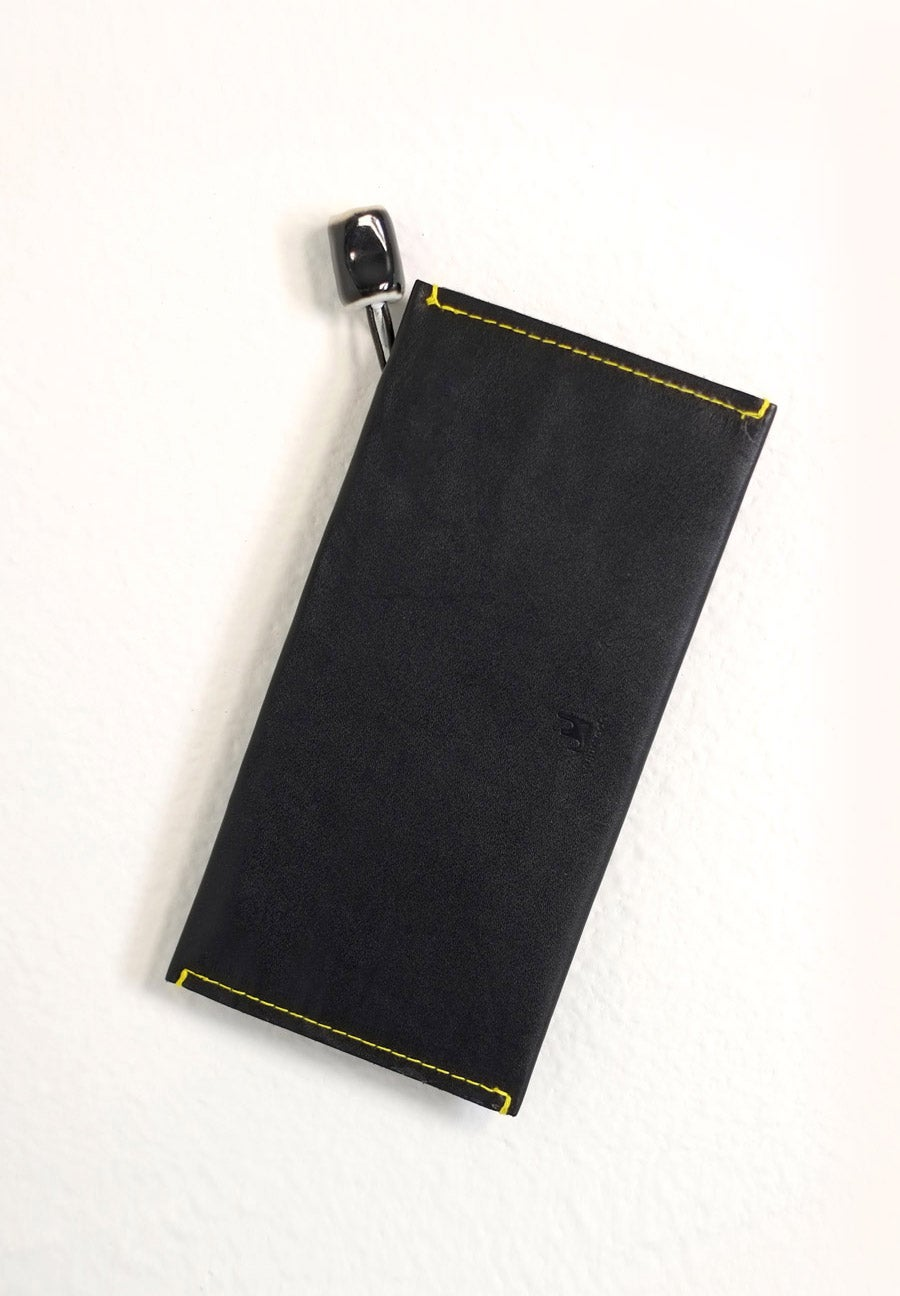 Image of black fold wallet