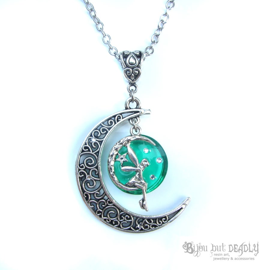 Image of Fairy Moon Necklace