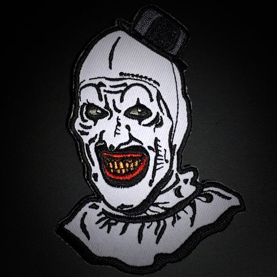 "Image of Official ""Art the Clown"" embroidered patch"