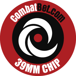 """Image of 39mm (1.5"""") Custom CombatBet Chips - Minimum Order is 100 Chips"""