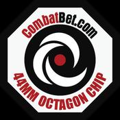 Image of Octagon Custom CombatBet Chips - Minimum Order is 100