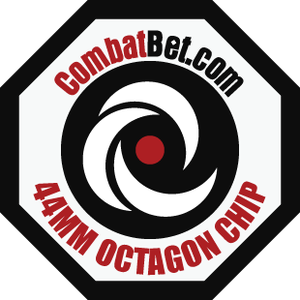 Image of Octagon Custom CombatBet Chips - Minimum Order is 100