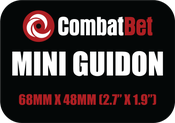 Image of Mini Guidon Custom CombatBet Chips - Minimum Order is 100 Chips