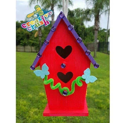 Image of Hearts Birdhouse