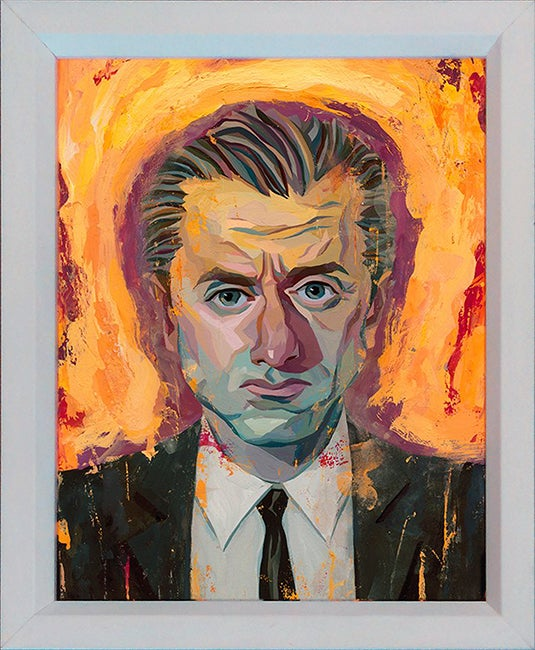 Image of Reservoir Dogs Mr. Orange Original Painting