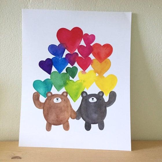 Image of love print