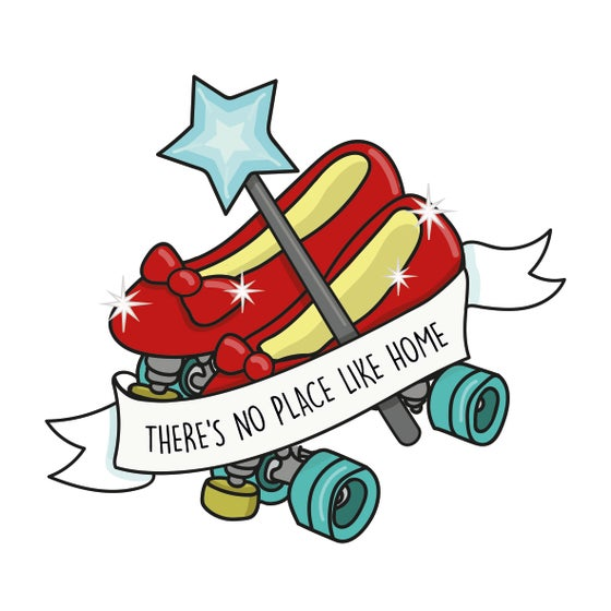 Image of Ruby Skates Sticker