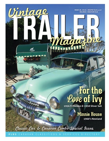 Image of Issue 28 Vintage Trailer Magazine