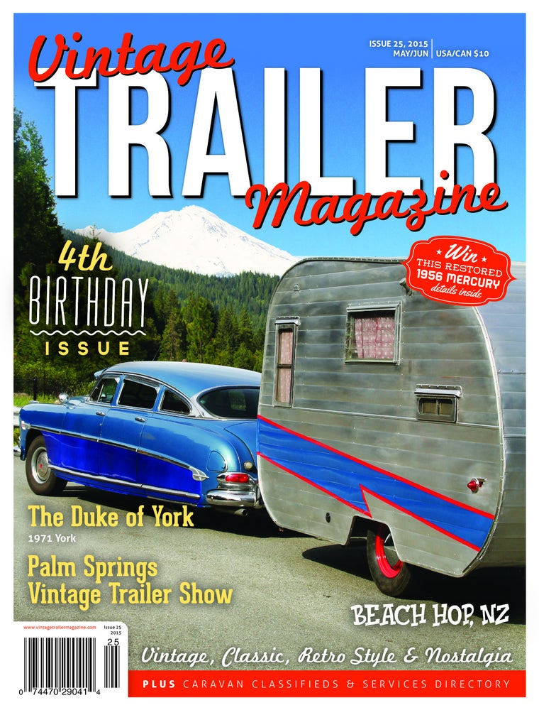 Image of Issue 25 Vintage Trailer Magazine
