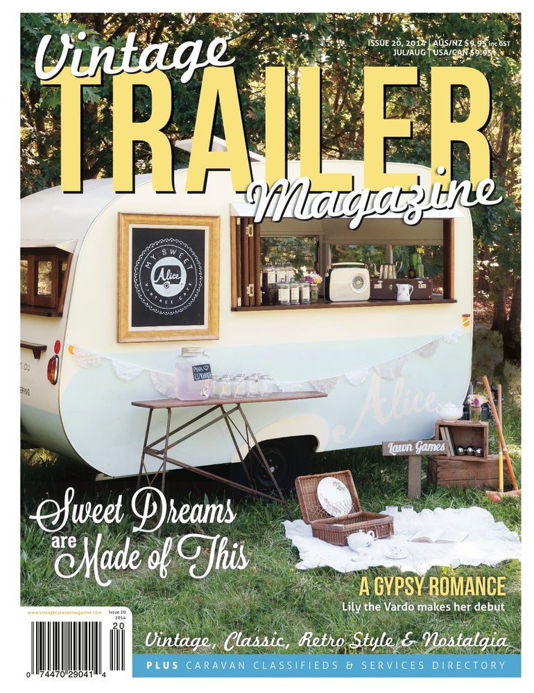 Image of Issue 20 Vintage Trailer Magazine