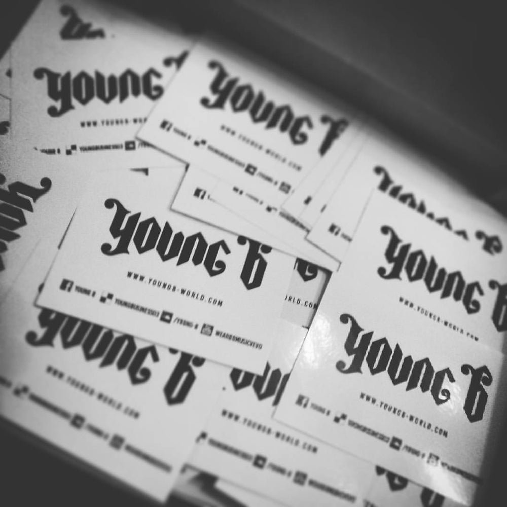 Image of YOUNGBWORLD STICKERS (10pcs)