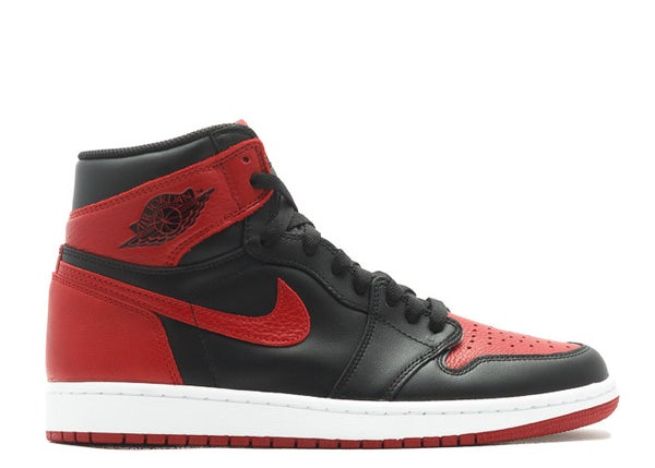Image of Air Jordan I (1) Black/Red Banned 2016
