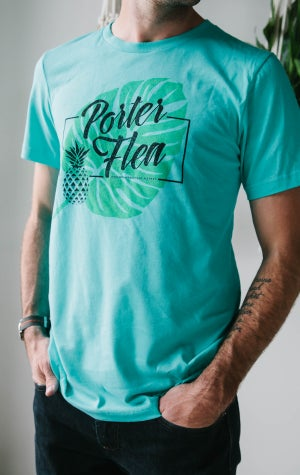 Image of Teal Summer Market Tee