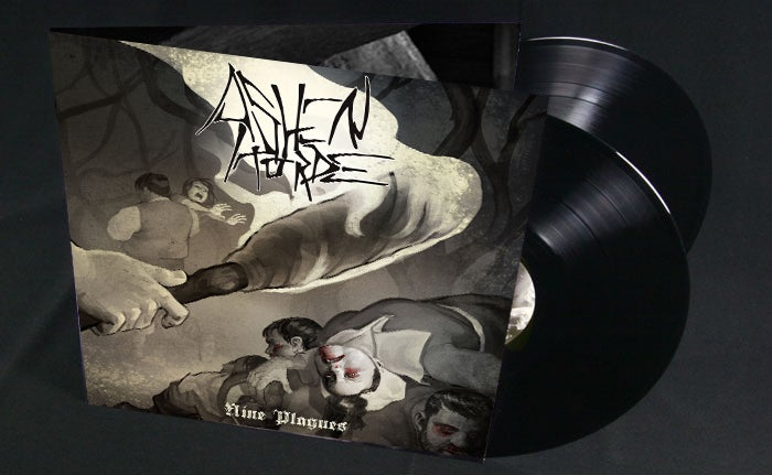 Image of Nine Plagues double LP