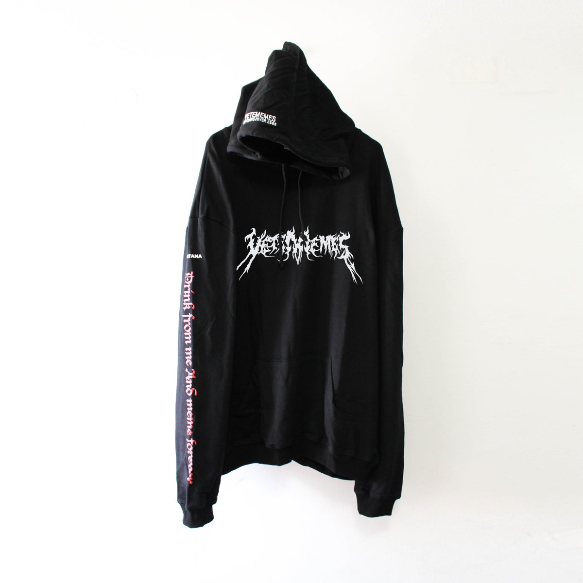 Image of Vetememes Death Metal Hoodie