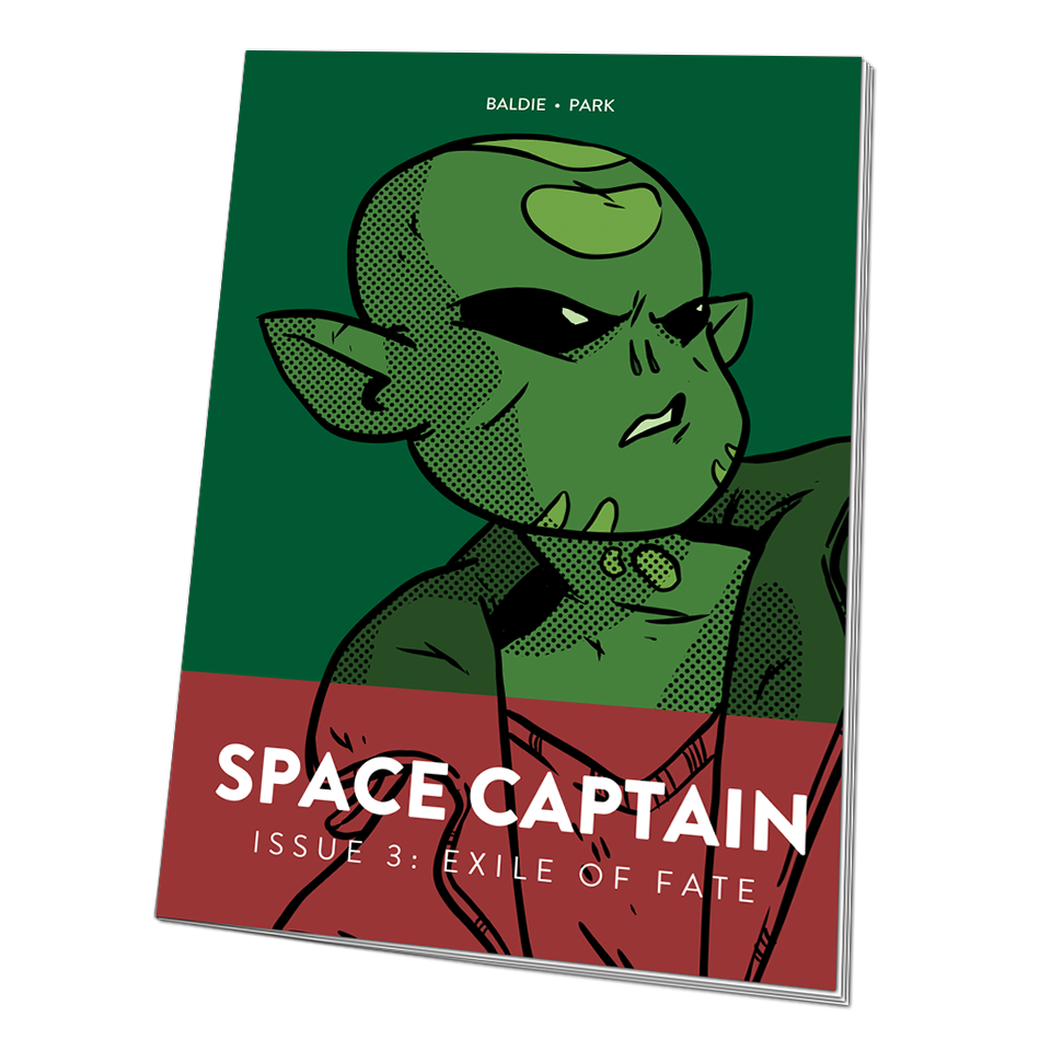 Image of Space Captain: Exile of Fate #3