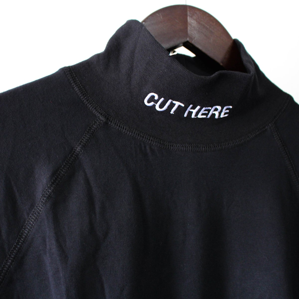 Image of Cut here Mock Turtleneck [PREORDER]