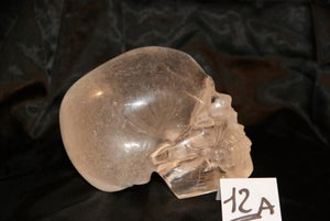 Image of Crâne Cristal de Quartz Clair 1,675 kg