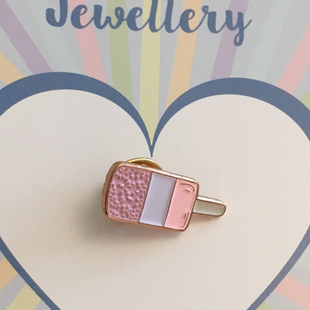 Image of FAB Lolly Enamel Pin