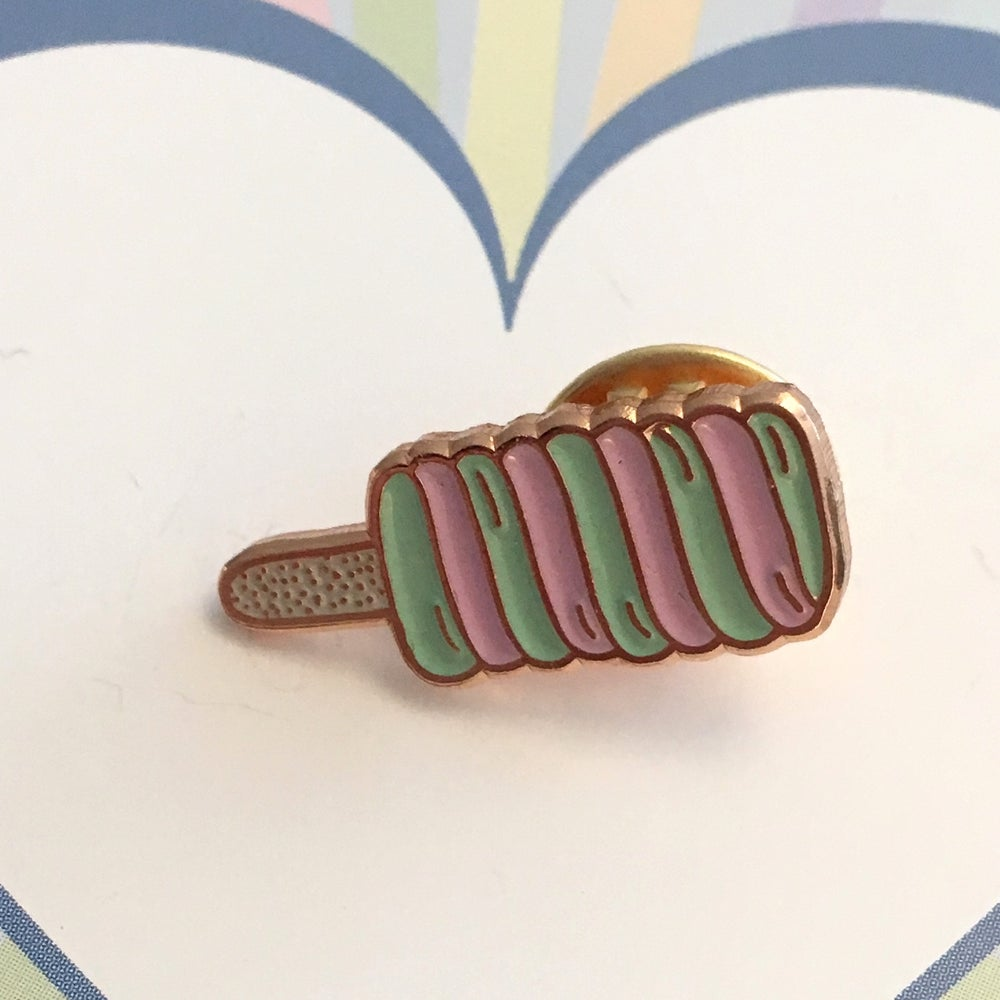 Image of Twister Lolly Enamel Pin