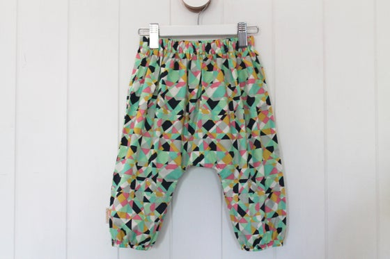 Image of Mod Geo - Boho Harem Pants