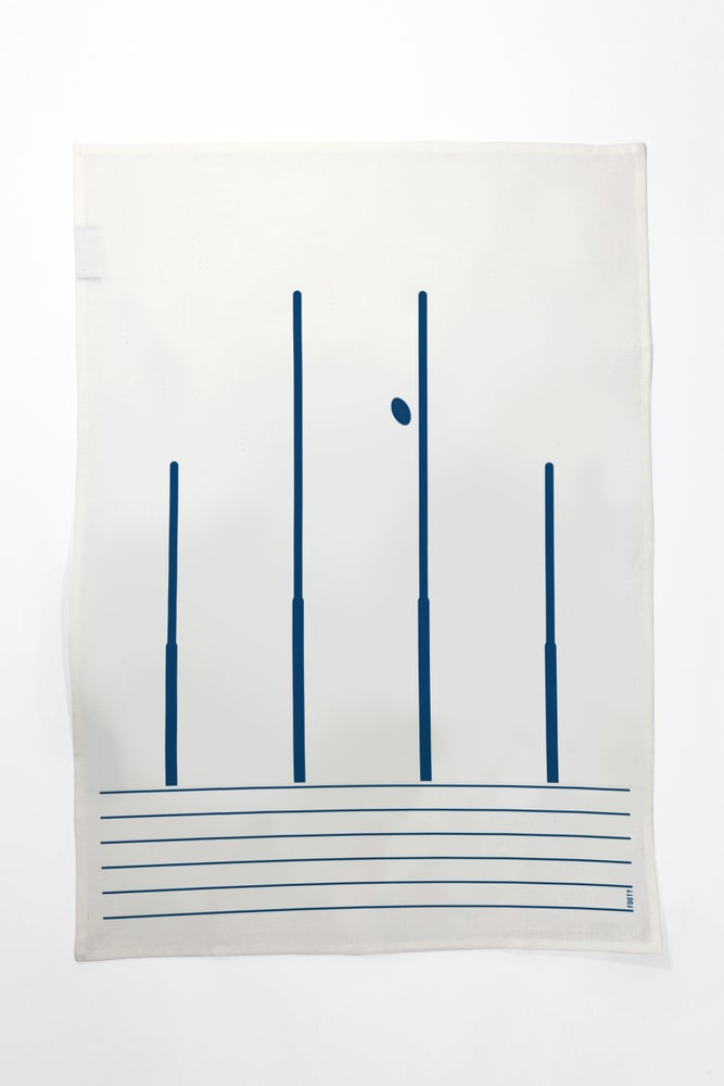 Image of Footy - Tea Towel